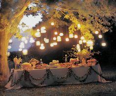 Outside table ideas