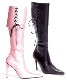 Womens 4 Inch Heel Foldover Knee Boot With Pointy Toe And Ribbons >>> You can find more details by visiting the image link. (This is an affiliate link) High Heel Boots, Heeled Boots, Aldo Boots, Women's Over The Knee Boots, 4 Inch Heels, Black High Heels, Stiletto Heels, Ribbons, Women's Shoes