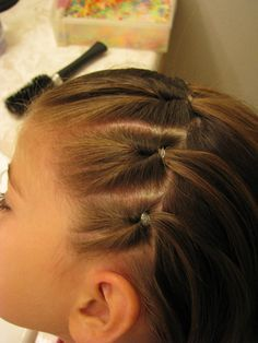 Throw Back Thursday: Thin Knots Part 2 | HairStylesByMommy.com