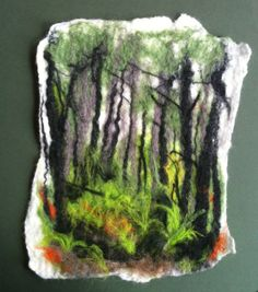 Wet Felting Artists | To Needle or to Wet? | Julie Hollis, Artist
