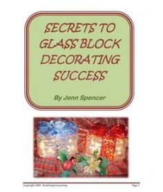 Arts And Crafts Store Product Painted Glass Blocks, Decorative Glass Blocks, Lighted Glass Blocks, Painted Jars, Glass Paint, Christmas Glass Blocks, Christmas Wood, Christmas Signs, Homemade Christmas
