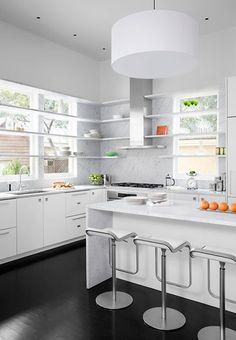 Marble Kitchen...LOVE