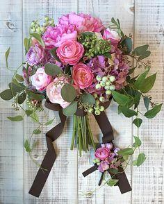 Boho Wedding Flowers, Boho Wedding Decorations, Diy Wedding Bouquet, Wedding Flower Arrangements, Bride Bouquets, Bridal Flowers, Floral Wedding, Flower Bouqet, Bouquet Wrap