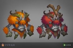 Siege. Treeman - probably already in a game, still cool reference to work from