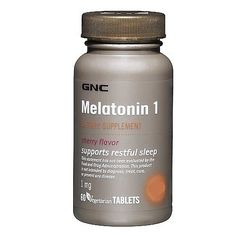 No need for sleep aids, harsh chemicals and dyes...Meletonin is natural and effective without waking up drowsy!