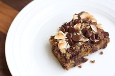 Paleo-friendly Coconut Chocolate Coffee Cake - Real Food Liz **this is delicious...especially with a cup of coffee!**