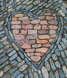 A heart in the path by EMN2