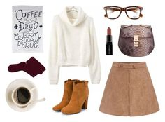 """Morning brews #16"" by lanaruska ❤ liked on Polyvore featuring Smashbox, Ray-Ban, Laurence Dacade, Fevrie, women's clothing, women, female, woman, misses and juniors"