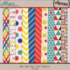 FREE My Big Day - the Papers By Meagans creations
