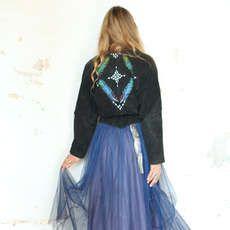 Free People's One of a Kind Coats Channel Famous Creative Ta #fashion #coachella trendhunter.com