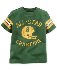4e2f4895c Carter's Little Boys' All-Star Champion Helmet Tee & Reviews - Shirts &  Tees - Kids - Macy's