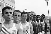 Cassius Clay with the 1960 Olympic Boxing Team