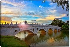SINGAPORE CHINESE GARDEN :BRIDGE: print by Been inspired,beautifull, Buyer are welcome to make enquiry at Photos.com 171849510