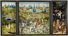 """""""The Garden of Earthly Delights"""" Hieronymous Bosch Museo Nacional del Prado, Madrid"""