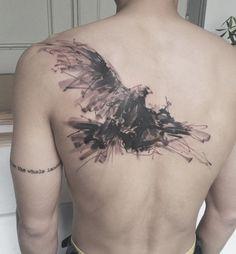 flying bird tattoo - 110 Lovely Bird Tattoo Designs