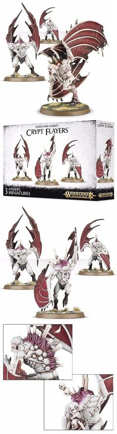 WFB Miniatures 183475: Warhammer Vampire Counts Flesh-Eater Courts Crypt Flayers Horrors Vargheists New -> BUY IT NOW ONLY: $33.94 on eBay!