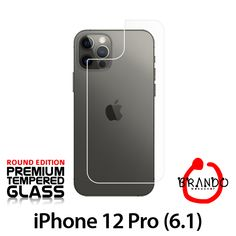 Brando Workshop Premium Tempered Glass Protector (Rounded Edition) (iPhone 12 Pro (6.1) - Back Cover) Phone Screen Protector, Glass Protector, Usb Gadgets, Smartphone, Workshop, Iphone, Cover, Atelier, Work Shop Garage