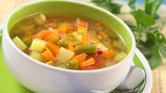 Try out this negative calorie effect soup recipe that you can eat all day long.