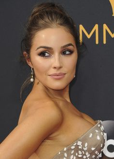 Olivia Culpo at the 68th Annual Primetime Emmy Awards held at the Microsoft Theatre in Los Angeles, California on September 18, 2016