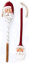 Santa Spoon Ornaments