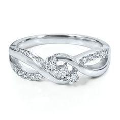 1/7ct TW Diamond Ring in Sterling Silver - Diamond Rings - Rings - Jewelry - Categories - Helzberg Diamonds