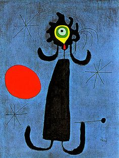 Painting (Woman  in Front of  the Sun), 1950 Miro,Joan oil painting reproduction