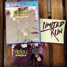#TheSwindle #Swindle #LRG #LimitedRunGames #PS4 #CurveDigital #retromaniac #nescommando #Dortmund #PlayStation4 #ASteamPunkCybercrimeCaper