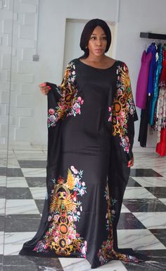 Temmie House Of Fashion: Latest Boubou Styles For Women African Fashion Ankara, Latest African Fashion Dresses, African Print Fashion, African Attire, African Wear, African Women, Long African Dresses, African Lace Styles, Fancy Maxi Dress
