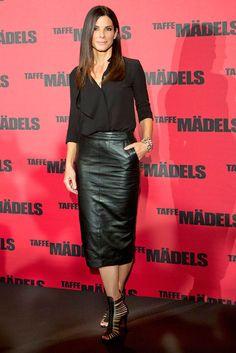 Sandra Bullock - saia lápis de 20 a 60 anos                                                                                                                                                                                 Mais