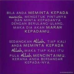 Meminta Pada ALLAH