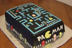 Pacman cake By tetley on CakeCentral.com