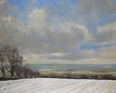 Buy Snow on Garrowby Hill., Oil painting by Malcolm Ludvigsen on Artfinder. Discover thousands of other original paintings, prints, sculptures and photography from independent artists.