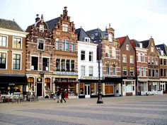 The charming town squares of Delft