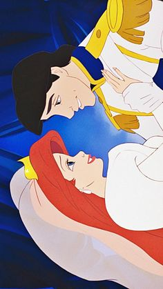 The Little Mermaid. She looks so grown up at this part.