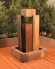 Free Shipping and No Sales Tax on the Rocket Garden Water Fountain from the Outdoor Fountain Pros.