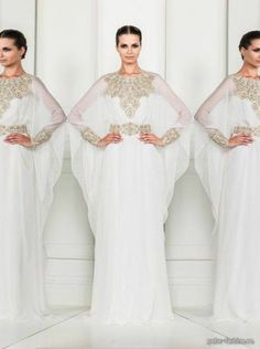Dubai Very Fancy Kaftans Abaya Jalabiya Ladies Maxi Dress Wedding Gown Earing |