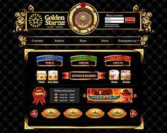 Web Design for Golden Star Online Casino