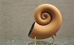 spirula, 3d printing, akemake, 3d printed speaker, speaker, wooden speaker, filament, diy speaker, 3d printed wood, reader submitted content,