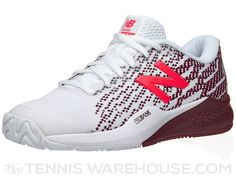 New Balance WC 996v3 B White/Oxblood Women's Shoe