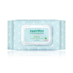 [Features] [Beyond] Apple Mint Fresh Cleansing Tissue 50ea Its embossing sheet helps completely cleanse off makeup and waste inside pores, and applemint and the