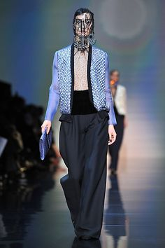 the Giorgio Armani Prive Haute-Couture show as part of Paris Fashion Week Fall / Winter 2012/13