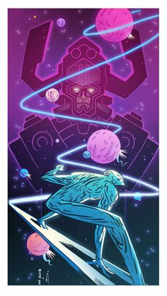 Andrew MacLean Silver Surfer COLOR by Zeigler