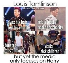 I personally like Louis. . . He's much better than the other 1D's. -_- And she still likes Niall. . . :/