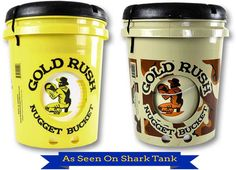 Gold Rush Nugget Bucket Complete Kit  (Yellow or Camo)