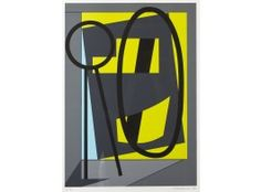 Sam Vanni, 1984, litografia, 61x44 cm, edition EA - Hagelstam A141