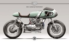 Moto Guzzi Nevada 750 Design for Rua Machines