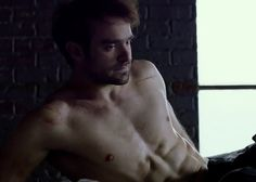charlie cox This Daredevil is AKA the scene where EVERY women's ovaries EXPLODED!!