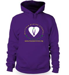 March is Multiple System Atrophy Awareness Month! Reserve your MSA Awareness hoodie today to support this cause! All proceeds will go towards MSA research to help find a cure to this debilitating disorder.