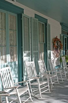 Myrtles Plantation front verandah, St. Francisville, Louisiana