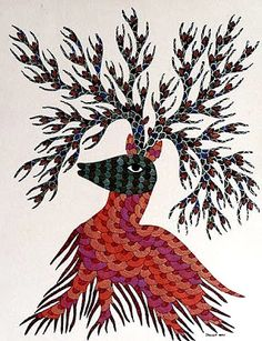 Bhil and Gond art - on line | Art Found Out